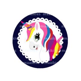 (FB634) unicorn navy