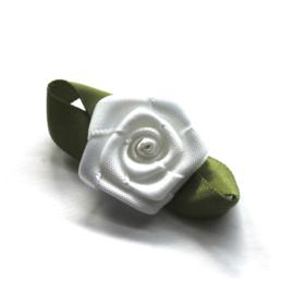 kwaliteit roosjes wit 4cm