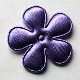 35mm satijn bloem lavendel