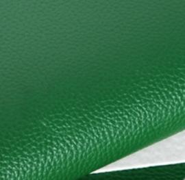 mooi lapje pu leer groen