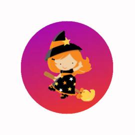 FB920 heksje oranje paars