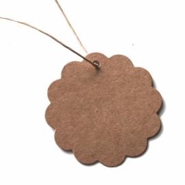 10x label rond craft (6cm)