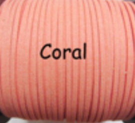 Suède veter coral