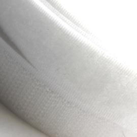 Klittenband wit 20mm breed