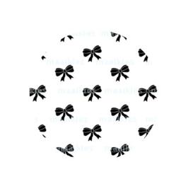(FB580) strikjes wit groot