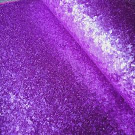 lapje grove glitter knal paars