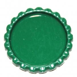 Bottlecap  groen flatblack