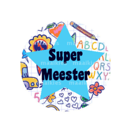 (FB618) SUPER MEESTER SCHOOL BLAUW