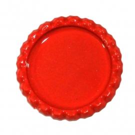 Bottlecap flatback  oranje