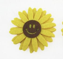 vilt patch happy zonnenbloem