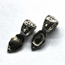 Sierlijke Bails zilver p/s