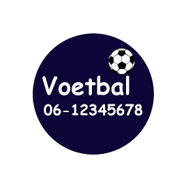 Sos button voetbal