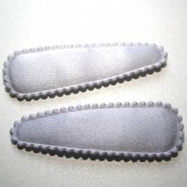 wit satijn hoesje (5cm)