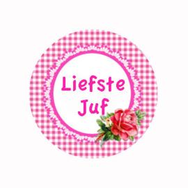 (FB814) LIEFSTE JUF ROZE BLOEM
