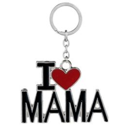 Sleutel hanger I love mama