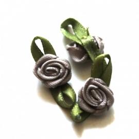 Super kwaliteit roosjes grijs