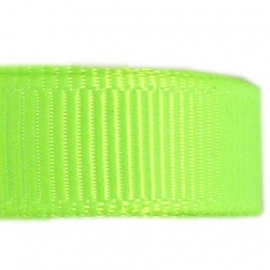 neongroen grosgrain band pm