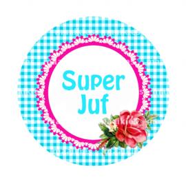 BSO39 SUPER JUF BLAUW BLOEM