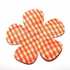 47MM ruitbloem oranje