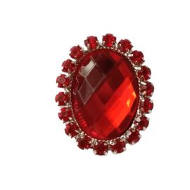 luxe strassteen rood