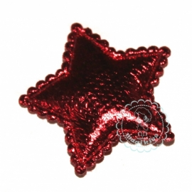 Ster metallic rood
