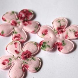 35mm Roze rozenprint bloem