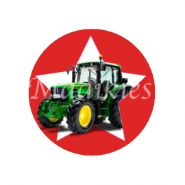 (FB431) tractor rood