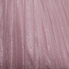 haarband elastiek  babyroze glans 15mm