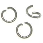 Open ringetjes 6mm ca 50 stuks