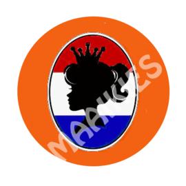 BSO34 button koningsdag meisje