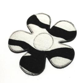47mm zebra bloem
