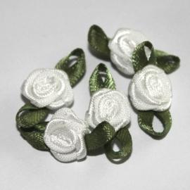 Super kwaliteit roosjes ivoor