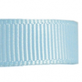 Baby blauw grosgrain geweven band p5m