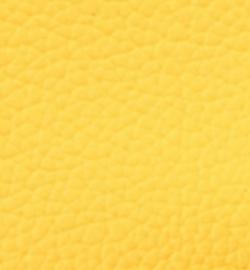 Dun Lapje imitatie leer geel