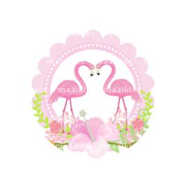 (FB595) Flamingo verliefd
