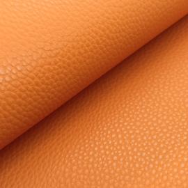 Mooi lapje kunstleer  oranje (lipa)