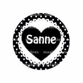 Naam button sanne