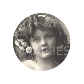 (FB267) vintage girl