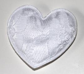 XL hart wit (5cm)