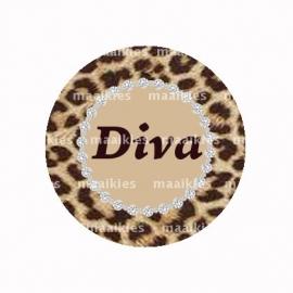 (FB466) leopard DIVA