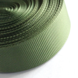 grosgrain lint leger groen (22MM)