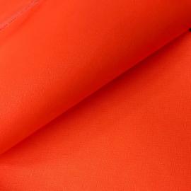 pu leer neon oranje