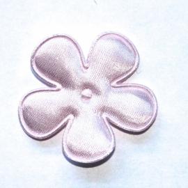 35mm pastel roze bloem satijn