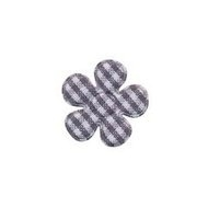 20mm grijs ruit bloem