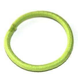 Elastiek smal lime groen