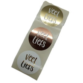 6 sluitstickers LIEFS