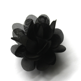 5 cm bloem  zwart
