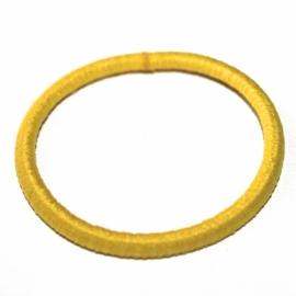 Elastiek smal geel