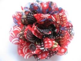 10cm kleurrijke bloem