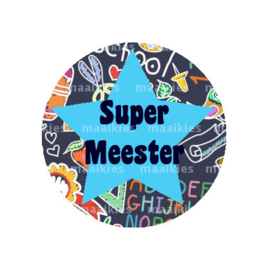 (FB619) SUPER MEESTER SCHOOL ZWART